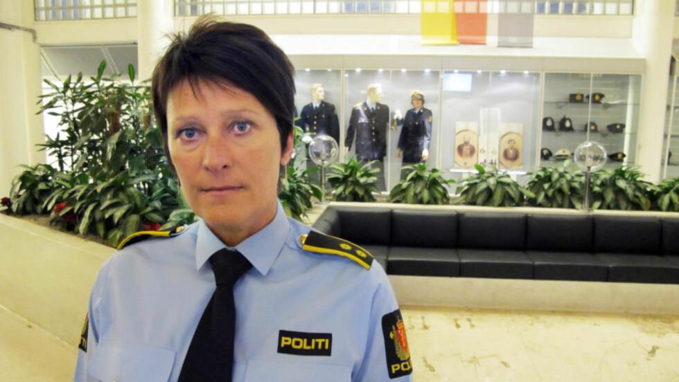 HAR JAKTET PÅ 45-ÅRINGEN: Politioverbetjent Kari-Janne Lid og sedelighetsavsnittet ved Oslo politidistrikt har i flere måneder jaktet på den siktede 45-åringen, som viser seg ikke å ha fast bopel i Norge. Foto: RALF LOFSTAD/DAGBLADET