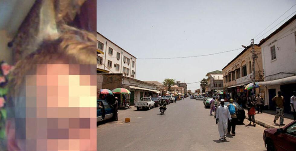 FENGSLET: Den 45-årige nordmannen har siden søndag sittet arrestert i Gambias hovedstad Banjul, etter å ha blitt tatt sammen med seks smågutter på soverommet sitt. Foto: PRIVAT, DEMIANPZ/CREATIVECOMMONS