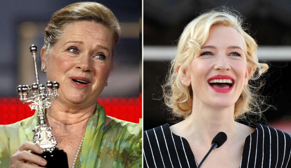 KRANGLET: Liv Ullmann ble så sint at hun forlot rommet etter å ha kranglet med filmstjernen Cate Blanchett under den første prøven på stykket «En sporvogn til begjær». Foto: SCANPIX