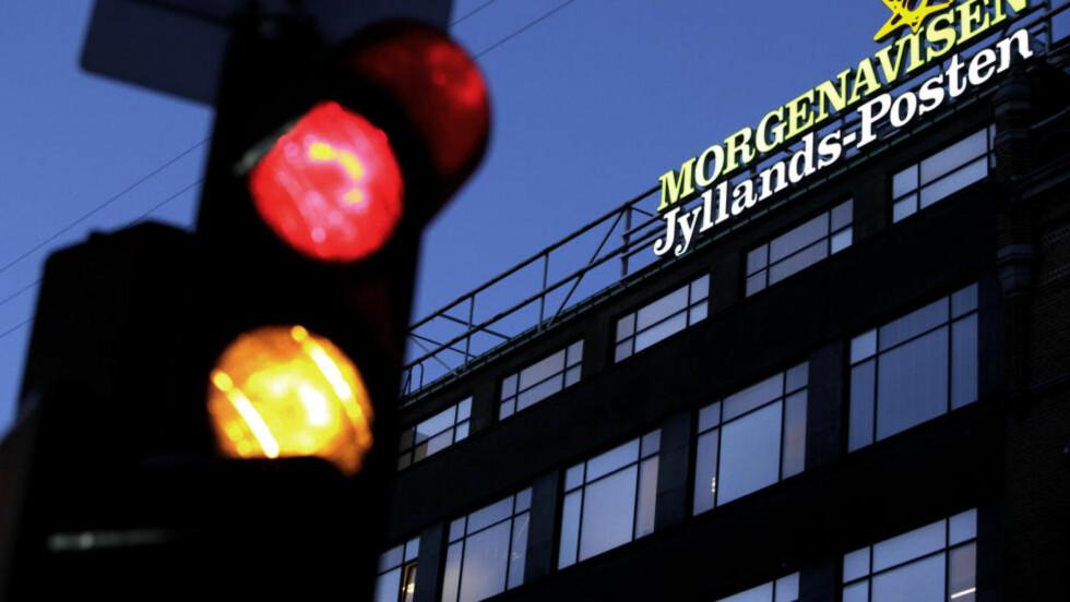 TERRORMÅL: Terroristene skal ha hatt som mål å drepe så mange journalister som mulig i avisen Jyllands-Posten. Foto: Reuters/Scanpix