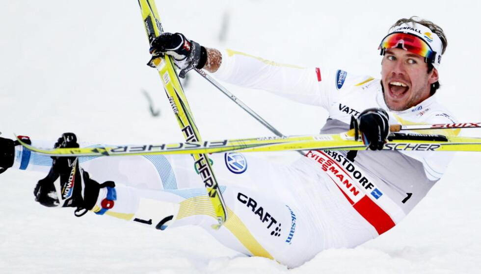 OBERSTDORF, TYSKLAND 20110102. Emil Jönsson vant sprinten under Tour de Ski i Oberstdorf søndag.  Foto: Gorm Kallestad / Scanpix