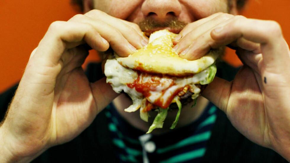 PROTEINER ER SVARET: Og mat med lav glykemisk indeks. Konklusjonen i et stort EU-finansiert forskningsprosjekt på kosthold er at de offisielle kostholdsrådene i Europa fører til at folk legger på seg.  Foto: Sara Johannessen / SCANPIX