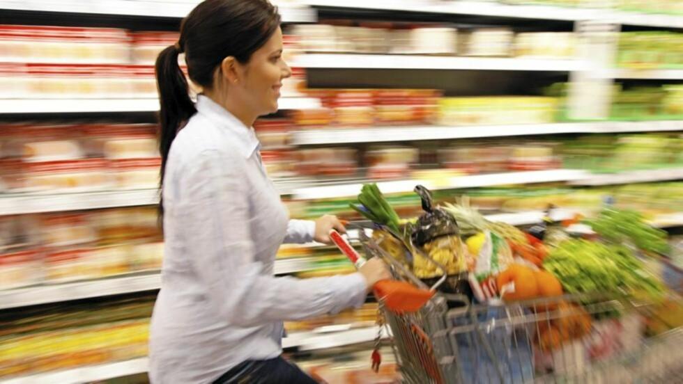 HER STARTER DET: Det er i butikken du må foreta valgene. Ta deg tid. Illustrasjonsfoto: www.colourbox.com