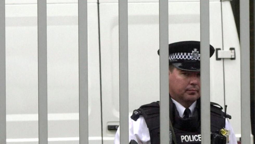 FLYTTES TIL TERRORDOMSTOL: Julian Assanges utleveringssak flyttes fra tinghuset Royal Courts of Justice på Strand sentralt i London til Belmarsh Magistrate's Court - hyppig omtalt som britenes terrordomstol. Foto: AP Photo/Max Nash/Scanpix