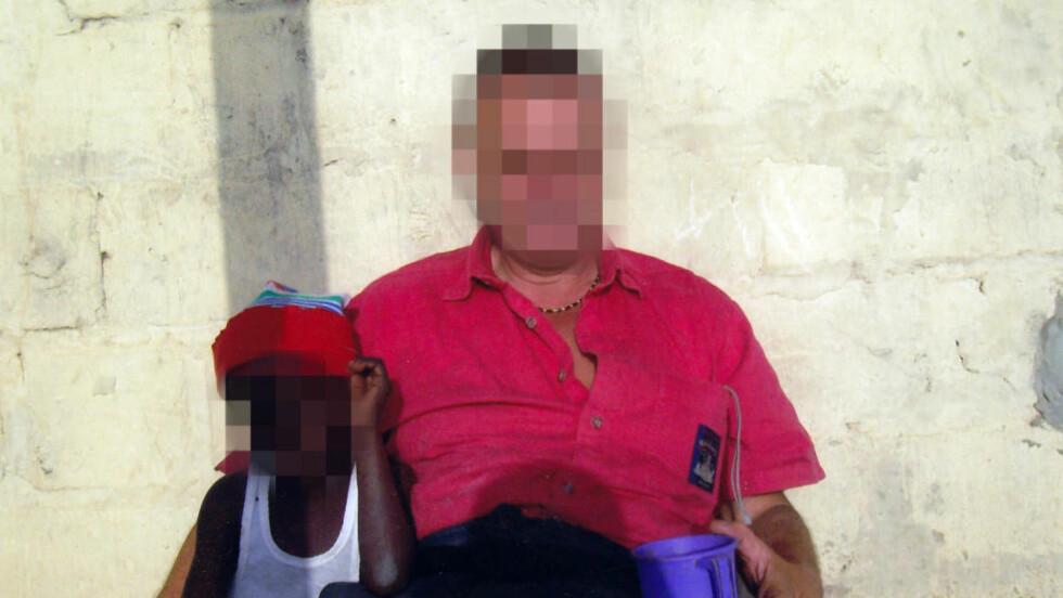 - FILMET VOLDTEKT: Nordmannen (45) skal ha filmet seg selv da han voldtok barn, ifølge Dagbladets politikilder i Gambia. Foto: Privat