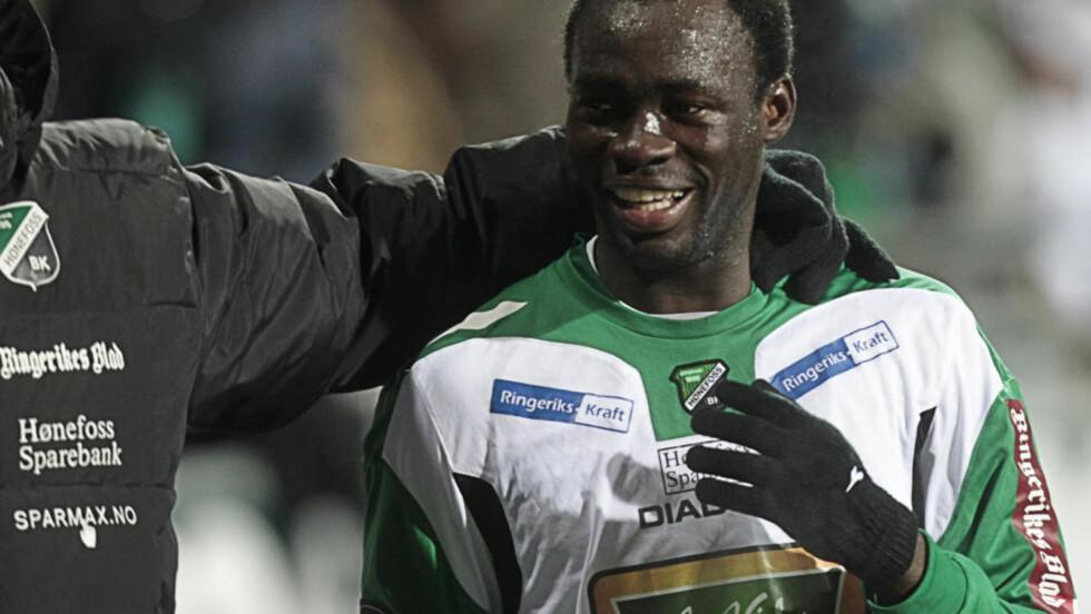 TIL MOLDE?: Davy Claude Angan ser ut til å bli ny Molde-spiller. Foto: Terje Bendiksby / Scanpix