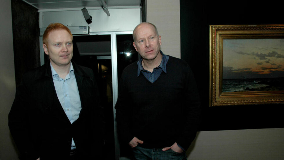 INGEN AVTALE: Advokat Kenneth André Leren og Karl Erik Bøhn klarte ikke komme til enighet med Larvik HK i dag. Dermed går det mot en rettssak. Foto: STIAN HARALDSEN