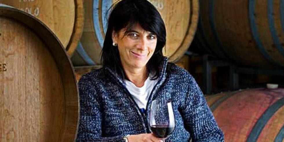 VINMAKER: Loredana Addari og mannen Nicola Argamante startet Podere Ruggeri Corsini Winery i 1995. Begge er jordbruksutdannede enologer.