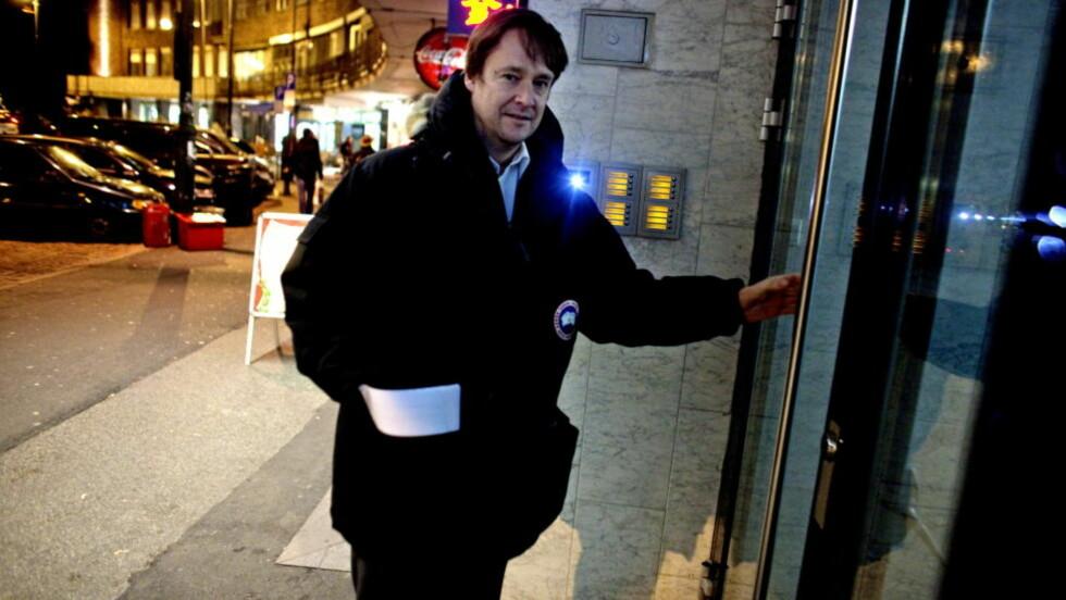 ROTTERACE:  Advokat John Christian Elden mener Frp-politiker Per Arne Olsen har vært utsatt for et politisk rotterace.   Foto: Krister Sørbø