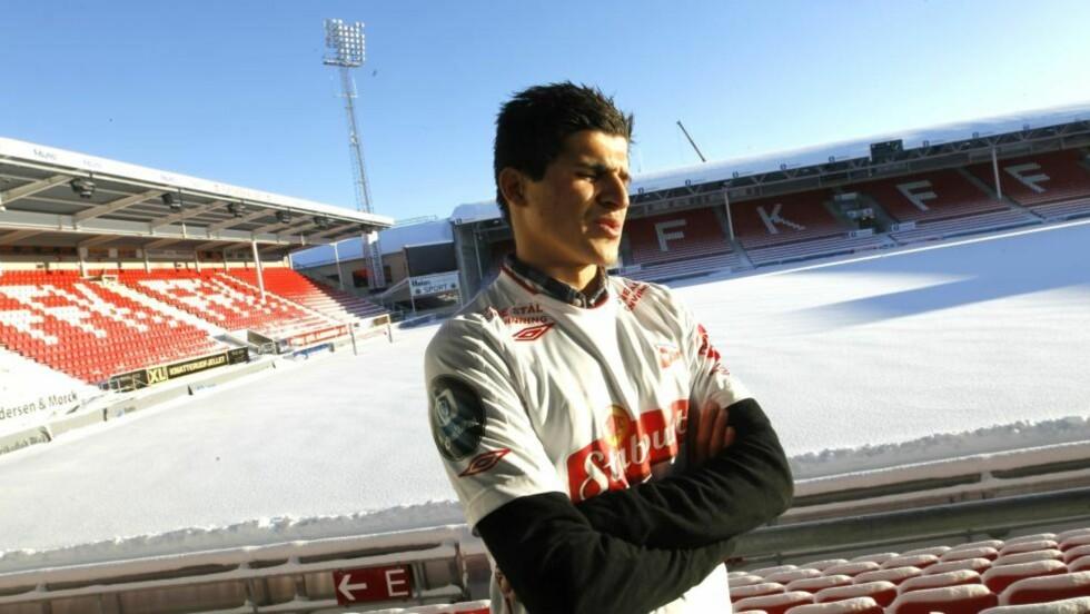 HJEMME IGJEN: Tarik Elyounoussi er tilbake i Fredrikstad etter et mislykket proffopphold på halvannet år i Heerenveen. Foto: Morten Holm, Scanpix