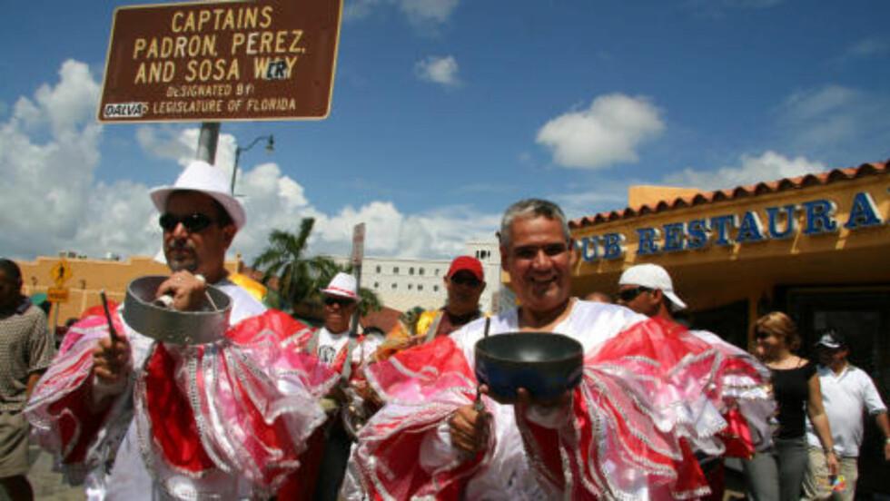 MIAMI:  I Little Havana byr gjerne på en fest. Foto: Kirsten M. Buzzi/Dagbladet