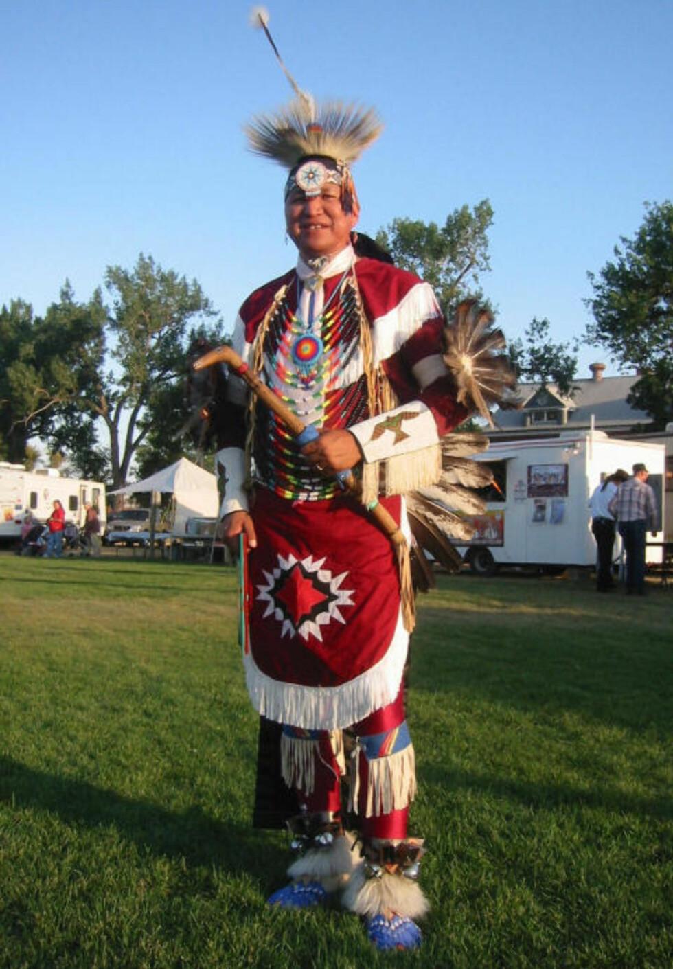 NORD-DAKOTA:  Her kan du lære mer om indianerne i USA og se dansekonkurranser på Pow Wow festivalen i september. Foto: Kirsten M. Buzzi/Dagbladet