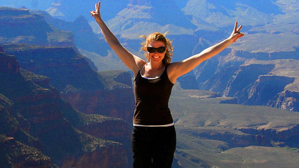GRAND CANYON:  Grand Canyon Nasjonalpark i Arizona er en av USAs best besøkte attraksjoner. De fleste reiser til sørsida, South Rim, hvor det er den beste utsikten. Foto: Kirsten Margrethe Buzzi/Dagbladet
