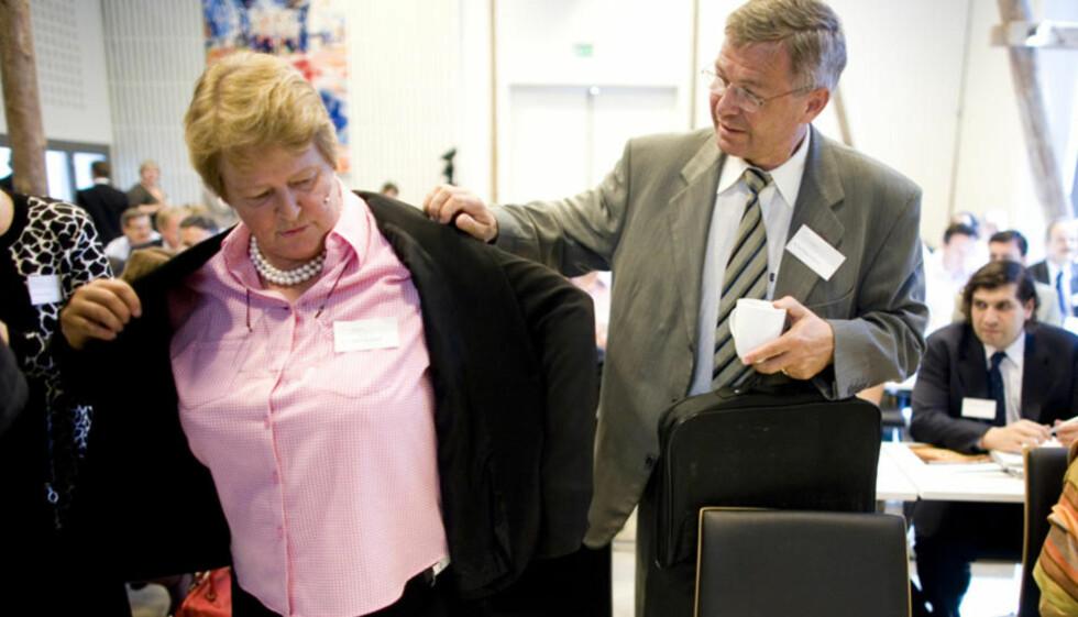SLAPP RETTSFORFØLGELSE: De tidligere statsministrene Gro Harlem Brundtland og Kjell Magne Bondevik. Foto: SARA JOHANNESSEN/SCANPIX