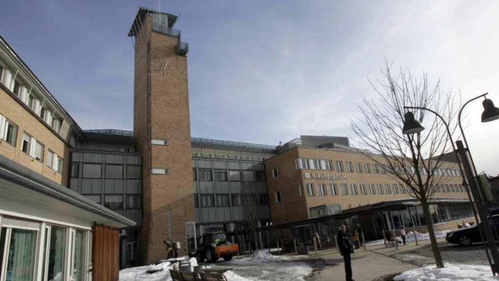 SÆDBANKEN TØMMES:  Rikshospitalet i Oslo må avvise foreldre som ønsker barn ved hjelp av donor. ARKIVFOTO: LISE ÅSERUD; SCANPIX. Foto: Lise Åserud / SCANPIX