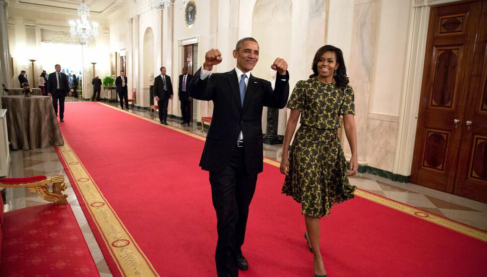 TRER AV: Om knappe to måneder går Barack Obama av som president i USA. Foto: Official White House / Pete Souza