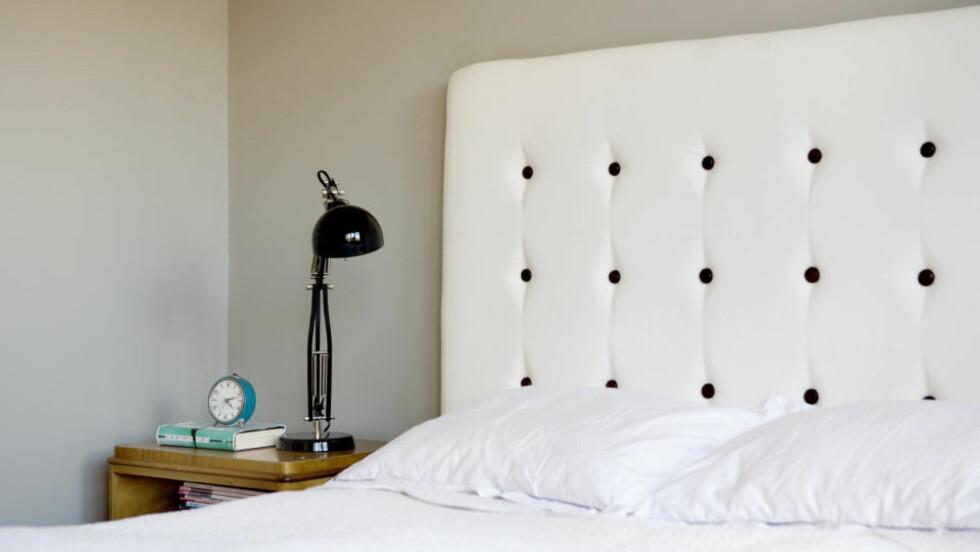 Unikt: Lager du din egen sengegavl, er du sikker på at ingen andre har helt lik. Denne har Hanne Gundersen og Gjertrud Klevås Rye laget. De spesialiserer seg på redesign. Stadig flere finner glede i å lage ting selv. (Alle foto: Elisabeth Sperre Alnes)