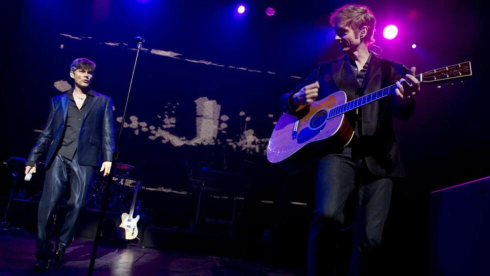 SISTE REIS: Etter to konserter på Club Nokia i Los Angeles tok a-ha farvel med fansen på det amerikanske kontinentet 16. mai. Nå er bandets avskjedslåt ute. Foto: Øistein Norum Monsen/Dagbladet