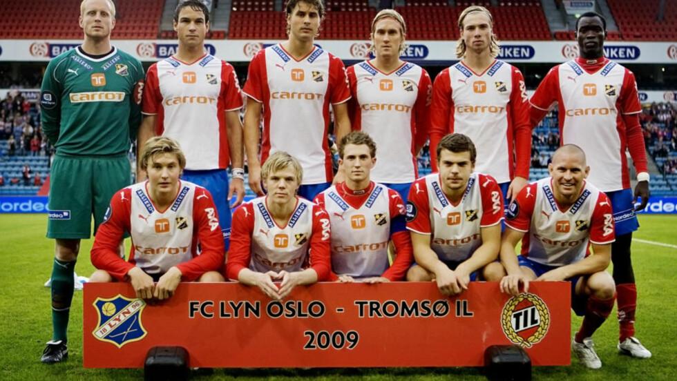 <strong>KONKURS:</strong> FK Lyn er konkurs. Det melder klubben på egne hjemmesider. Her fra klubbens siste Tippeliga-kamp i 2009. Foto:   Jon-Michael Josefsen / Scanpix .