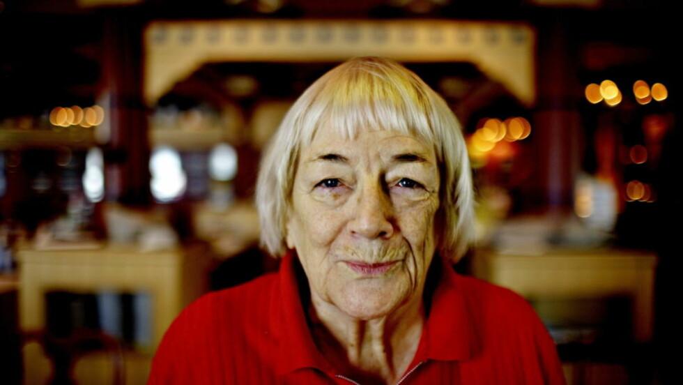 ENDELIG: Mange har ønsket å lage en tv-serie av «Sagaen om isfolket». Nå er Margit Sandemo forsiktig opitimist og tror prosjektet kan bli en realitet.  Foto: Lars Eivind Bones/Dagbladet