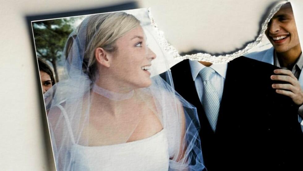FÅR DET IKKE TIL: I fjor ble det  inngått 24 800 ekteskap i Norge, 10 200 ekteskap endte i skilsmisse og 11 900 par ble separerte.  FOTO: Colourbox