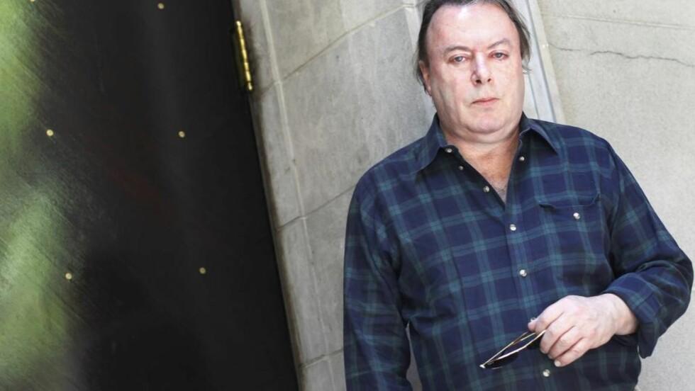 <strong>PROVOKATØREN:</strong> Christopher Hitchens ber ikke om unnskyldning for noe som helst i sine memoarer.. Foto: Reuters/Shannon Stapleton.