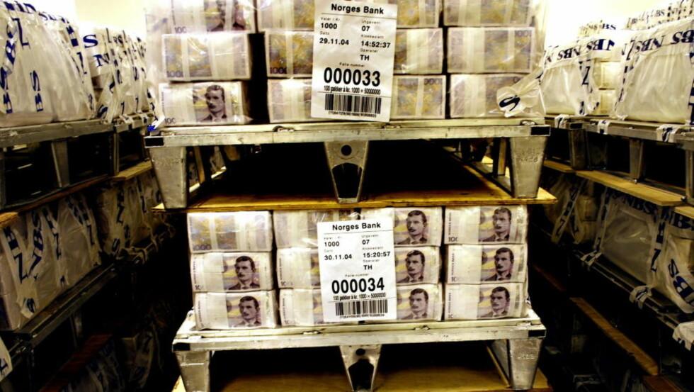 360 MILLIARDER KRONER: Tidligere har man anslått at den svarte økonomien kan være så stor som fem prosent av brutto nasjonalprodukt (BNP). Dette tilsvarer mer enn 115 milliarder kroner. Nå kommer det fram at skyggeøkonomien i Norge kan være tre ganger større. Foto: OLE C. H. THOMASSEN/DAGBLADET
