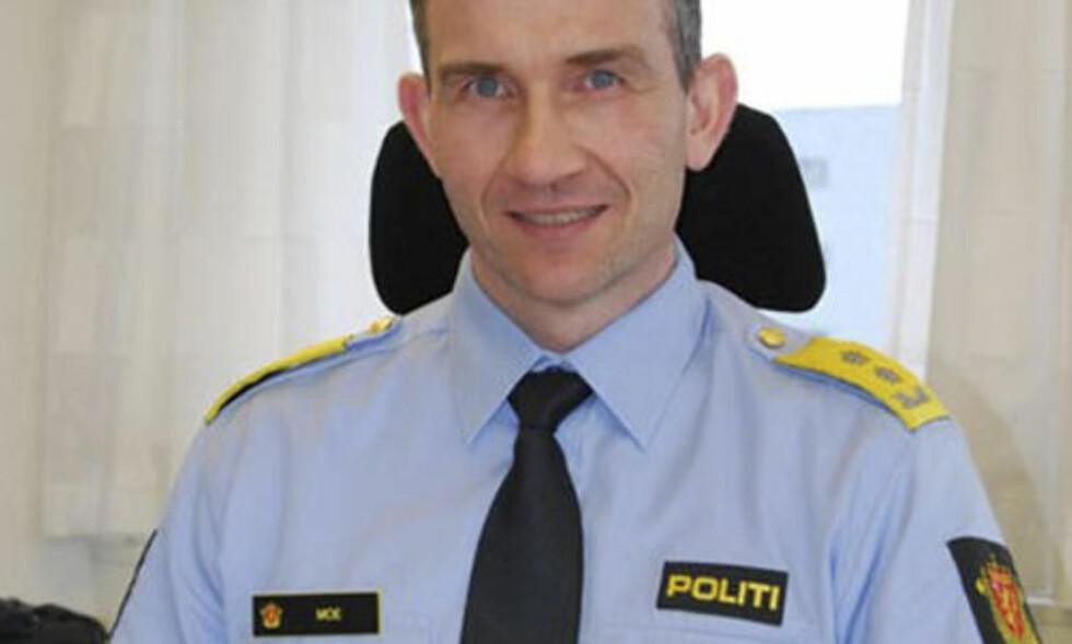 MANGLER RESSURSER: Politimester i Sør-Trøndelag politidistrikt, Nils Kristian Moe, sier de mangler ressurser til å etterforske økonomisk kriminalitet. Foto: POLITIET