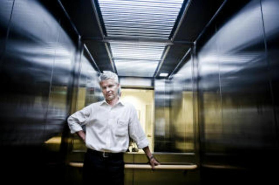 FRUSTRERT: - Vi kan ikke ha en straferettspleie hvor de som er sterkest, og har mest ressurser, slipper lettest unna, sier Økokrim-sjef Trond Eirik Schea til Dagbladet. Foto: THOMAS RASMUS SKAUG/DAGBLADET