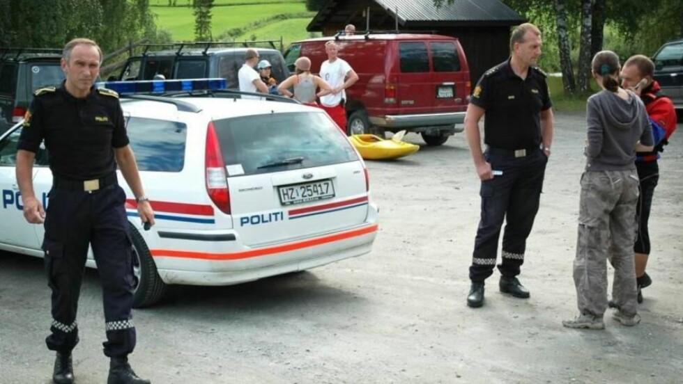 I 2007: For tre år siden døde to personer i en lignende raftingulykke i Sjoa. Arkivfoto: SCANPIX