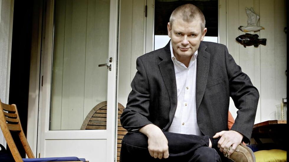<strong>NYTT BILDE AV HELTEN:</strong> Thorvald Steen har skrevet en bok om den egentlige Rikard Løvehjerte. Foto: Lars Eivind Bones / Dagbladet