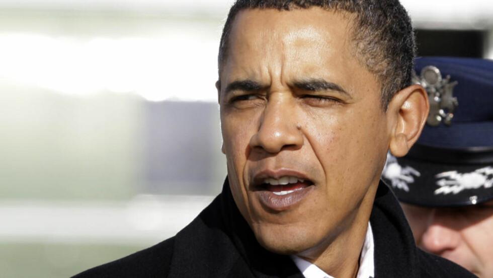 <strong>KUTTER:</strong> President Barack Obama står ved løftet om utslippskutt. Foto:(AP Photo/Alex Brandon)