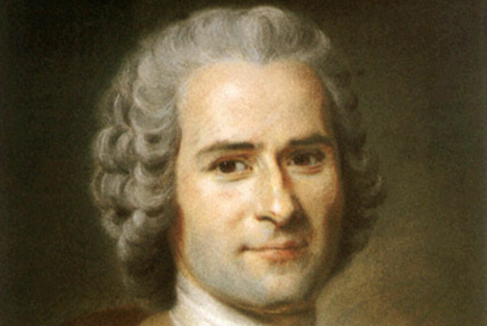 KLASSIKER: Jean-Jacques Rosseaus
