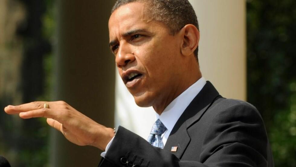 STØTTER OMSTRIDT MOKSKÉ: President Barack Obama minner om at amerikanske muslimer har samme rett til å praktisere sin religion som alle andre som bor i USA. Foto: REUTERS/SCANPIX