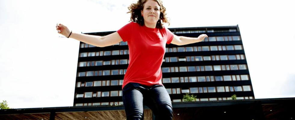 TA SATS: Som student må du tørre å bli kjente med nye menensker, mener Maren Hyvang Blaalid i Fadderutvalget ved Universitet i Oslo. Foto: LARS EIVIND BONES