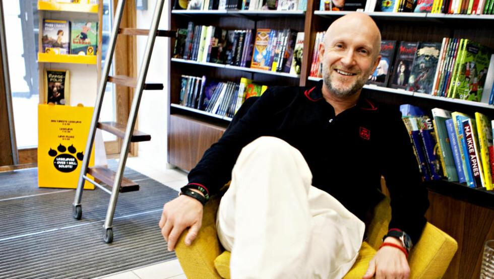 RAR, LITEN BOK: Lars Saabye Christensens nye roman er en rar, liten bok, mener Dagbladets anmelder. Foto: Lars Eivind Bones / Dagbladet