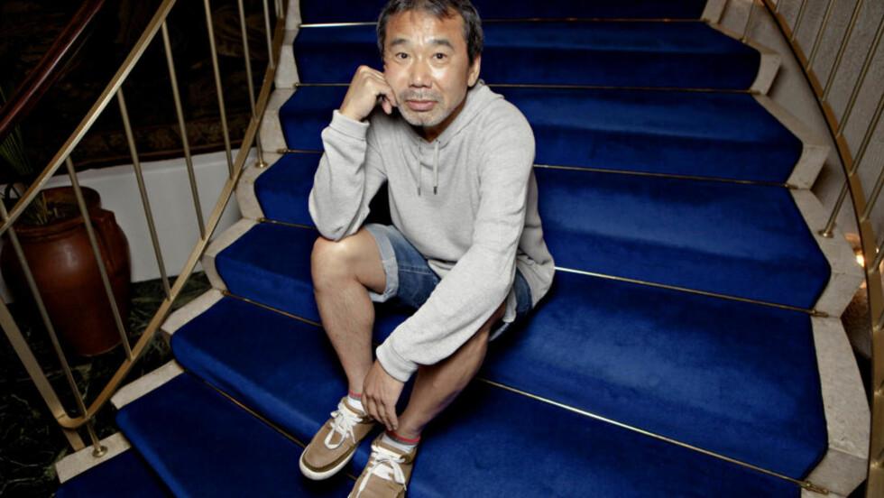 ANONYM VERDENSSTJERNE: Haruki Murakami solgte ut Litteraturhuset på 12 minutter. Men få har visst om at den japanske forfatteren har vært på ferie i Norge i tre uker. Foto: Lars Eivind Bones / Dagbladet