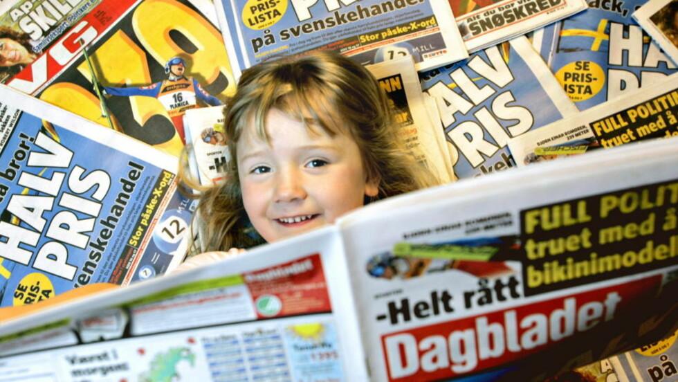 JAKTER PÅ ANDRES FEIL: Norske aviser henger hver dag ut skyldige, de jakter på byråkratisk idioti, inkompetanse og krever «kvalitetsikring av rutinene». Men ofte viser det seg svært vanskelig å ha rutinene i orden internt. Særlig artig er det når mediene forsøker å rette opp i feil og mislykkes.    Foto: Frank Karlsen