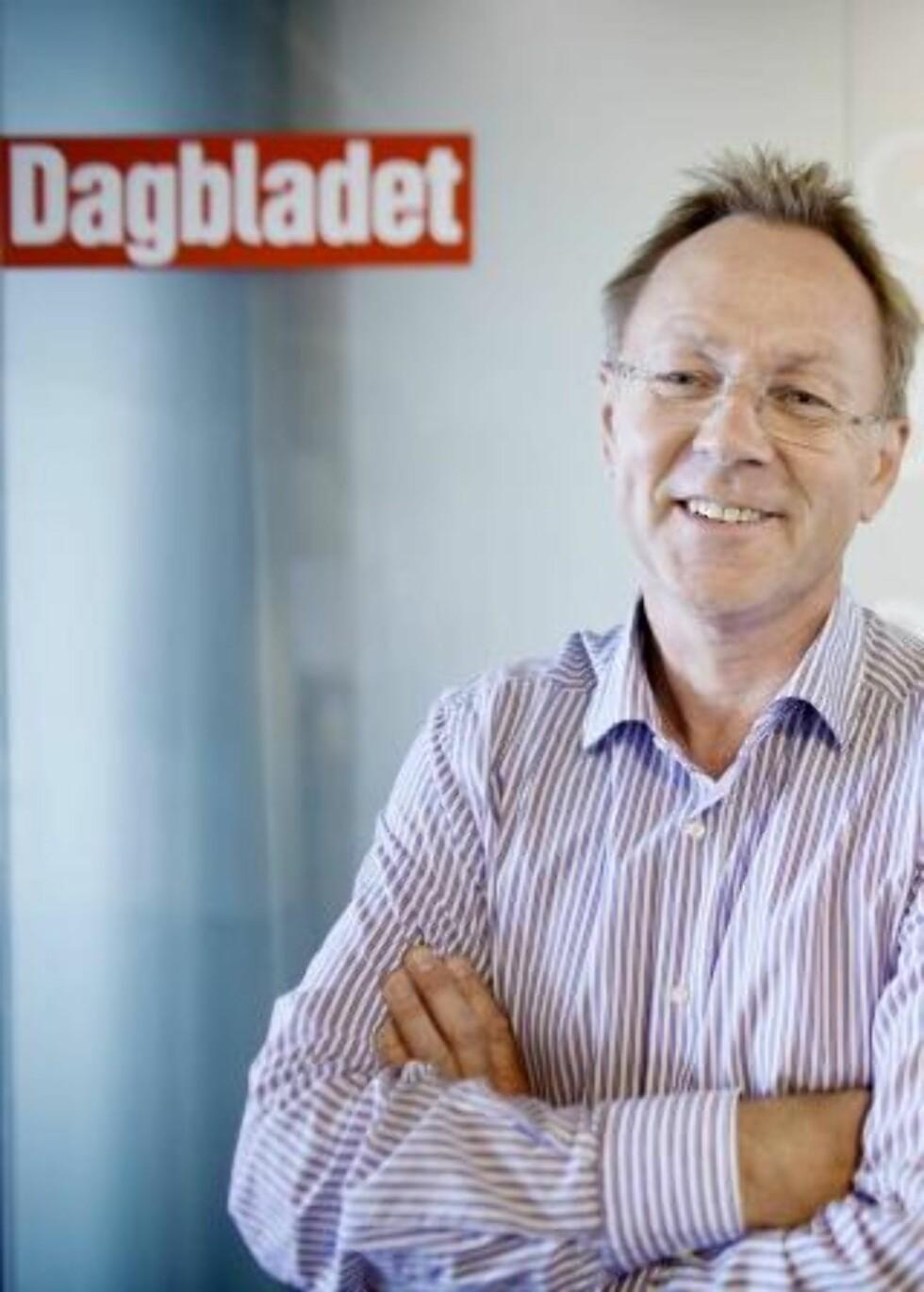 OGSÅ FORNØYD: Konserndirektør i Berner Gruppen, John Arne Markussen, er fornøyd med resultatet. Foto: ESPEN RØST/Dagbladet