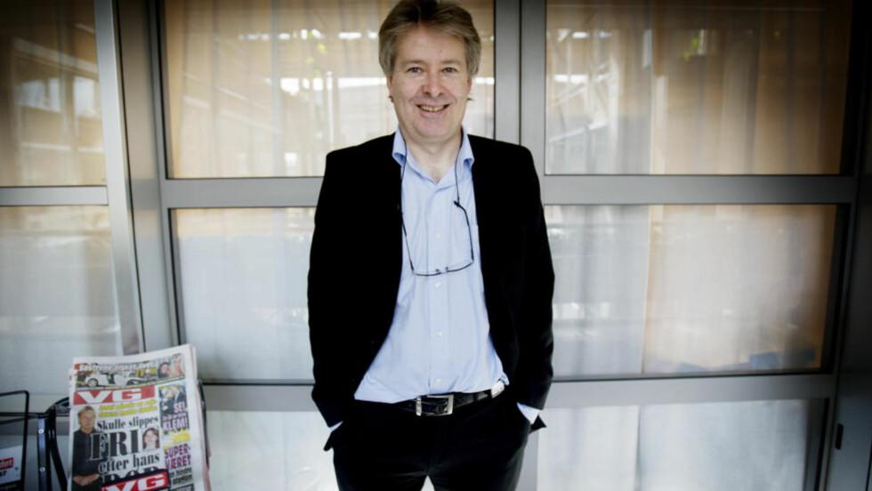 FORNØYD: Administrerende direktør i VG, Torry Pedersen, er fornøyd med å få saken ut av verden.  Foto: Stian Lysberg Solum / SCANPIX