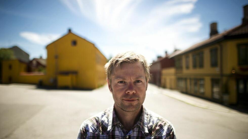 KLAR MED NY BOK: I september kommer Henrik Langelands nye roman «Verdensmestrene». Foto: Håkon Eikesdal