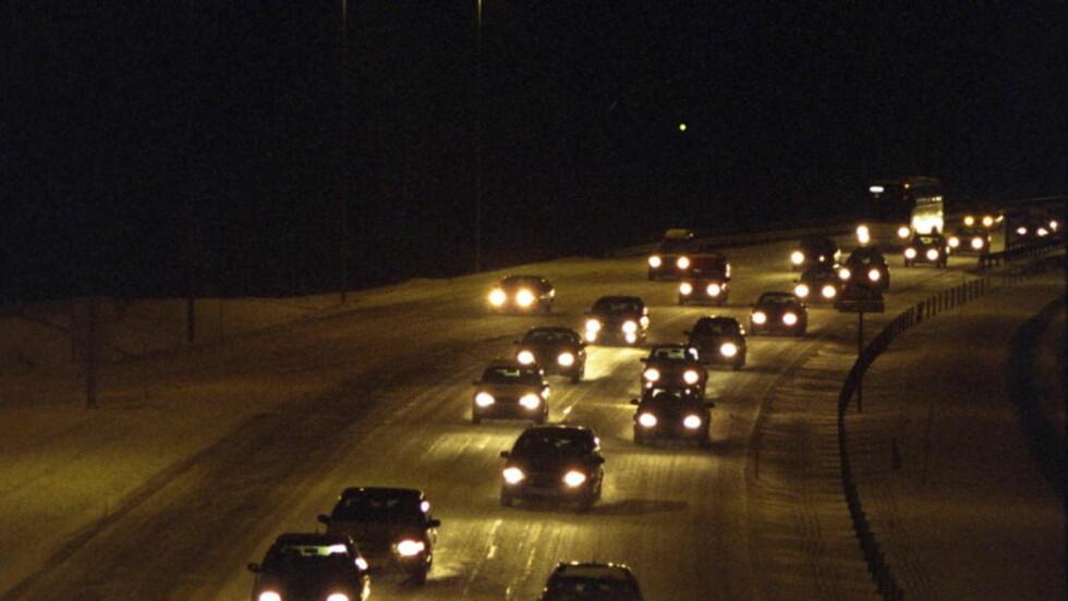 Råkjørerne florerer på veien til hovedflyplassen på Gardermoen.