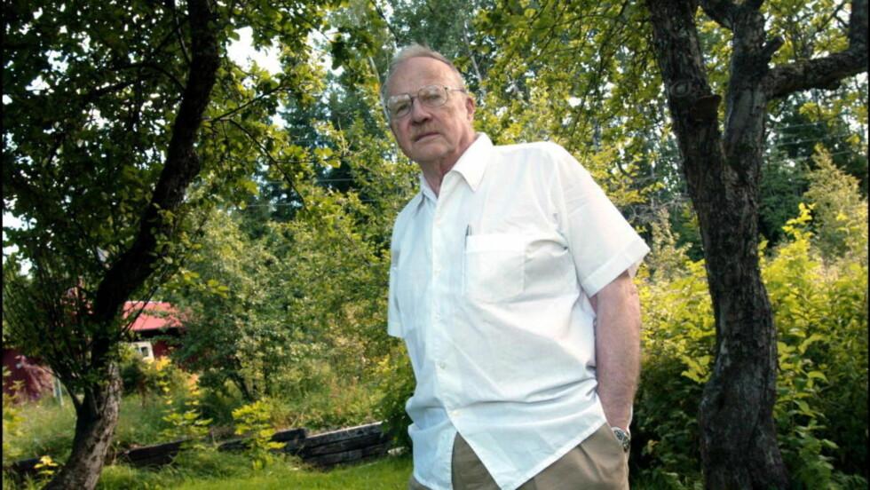 MØTER PROTEST: Den venstreradikale forfatteren Jan Myrdal er invitert til festivalen i Molde for å snakke om Bjørnson og nasjonstanken.  Foto: Expressen.