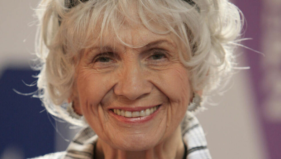 NOBELPRISKANDIDAT: 79 år gamle Alice Munro har vært lansert som kandidat til Nobelprisen en rekke ganger. Foto: SCANPIX / AFP / Peter Muhly