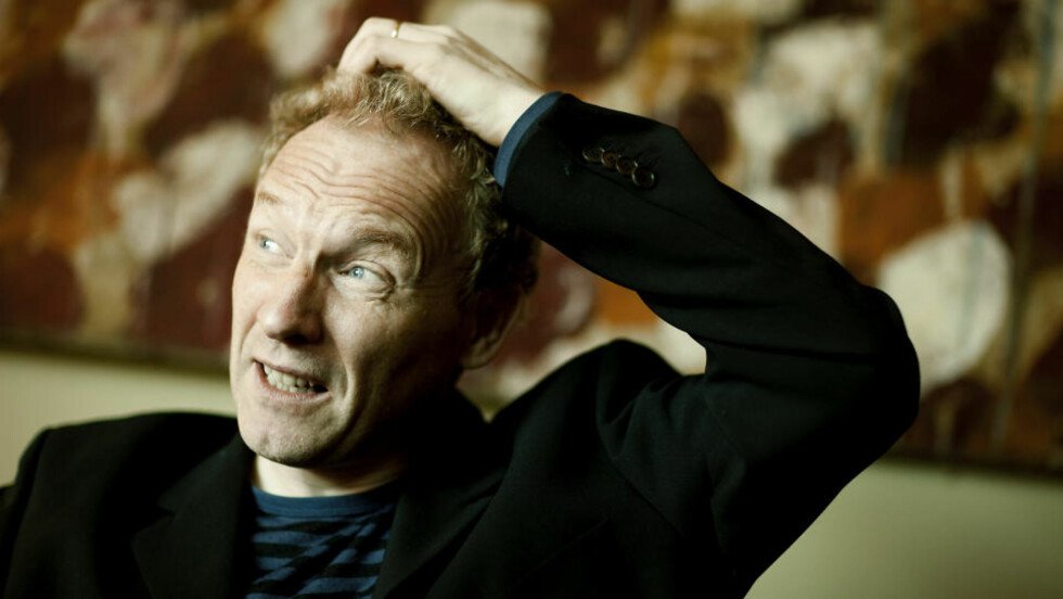 POPULÆR: Jón Kalman Stefánsson er en bejublet islandsk forfatter. Foto : Bjørn Langsem/DAGBLADET.
