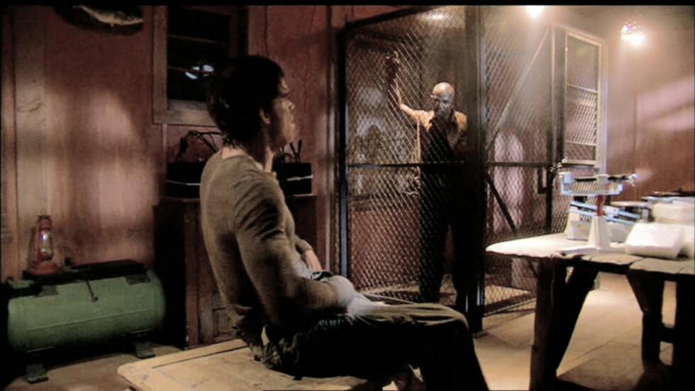 INSPIRASJON: Håvard Nyfløt fra Asker sitter varetektsfengslet siktet for drapet på Faiza Ashraf. Bildet er fra den amerikanske tv-serien «Dexter», som ??????handler om en seriemorder som dreper kriminelle. Serien var inspirasjonskilden til Nyfløt.? Foto: Showtime