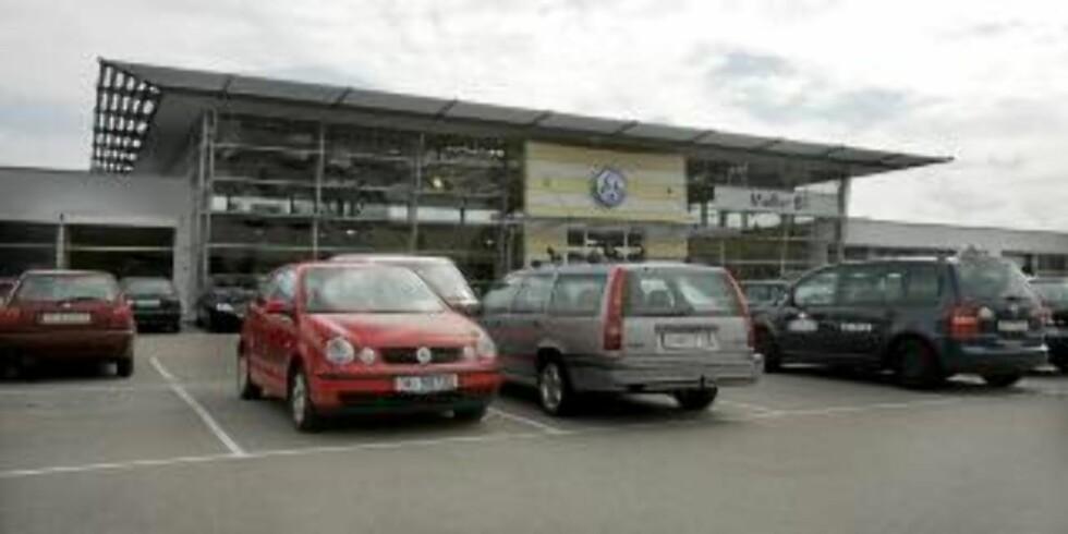 DYRE: Møller Bil på Ryen ville ha nesten 24 000 kroner for å fikse Golfen. Foto: Terje Bendiksby