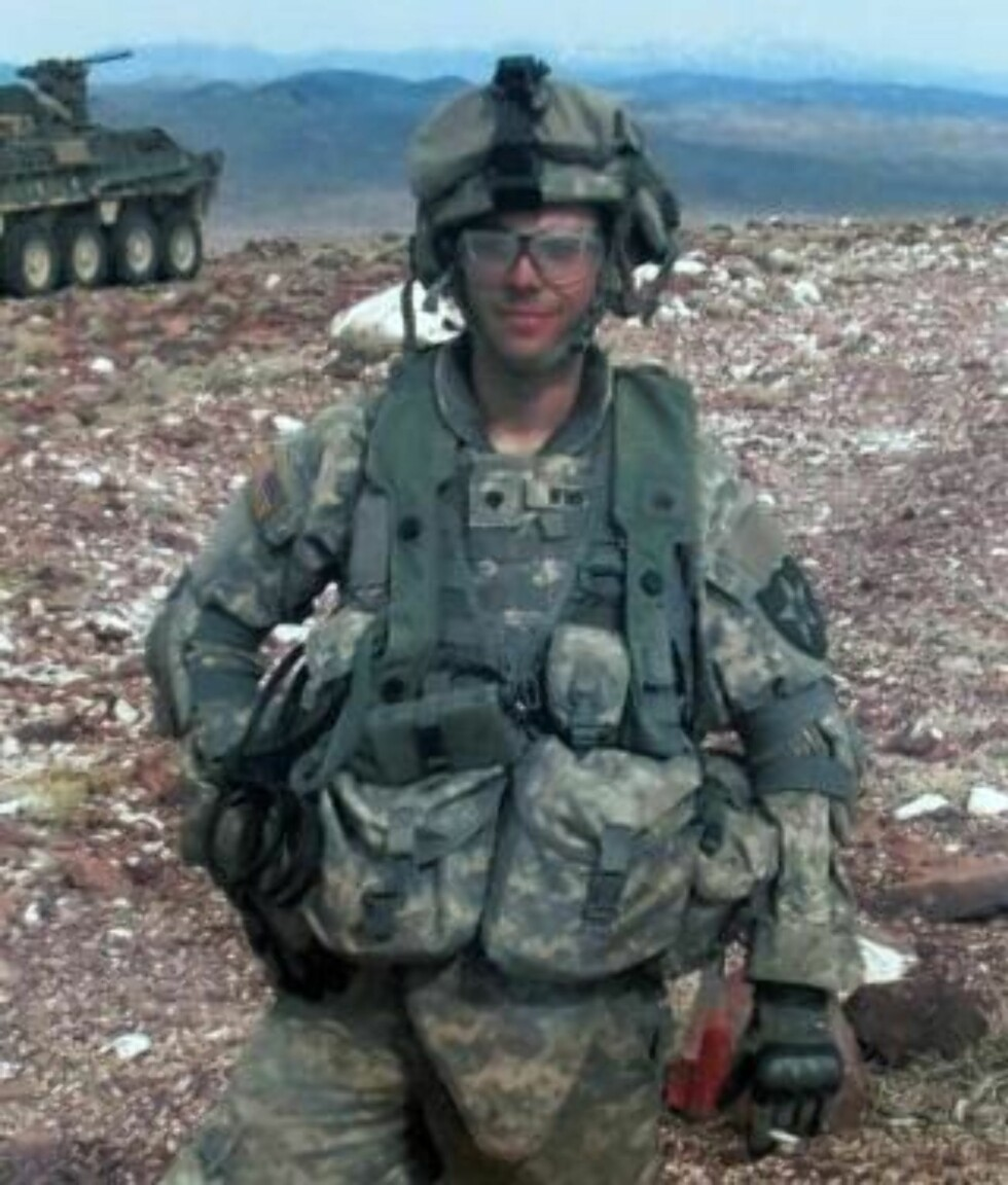 I FELT: Adam Winfield i Afghanistan. Foto: AP//Courtesy Winfield family/Scanpix