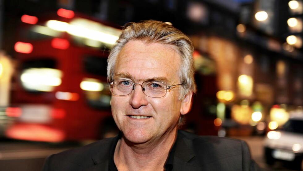 NY KRIM: Gunnar Staalesen kommer med bok nummer femten om Varg Veum. Foto: KEITH HAMMETT