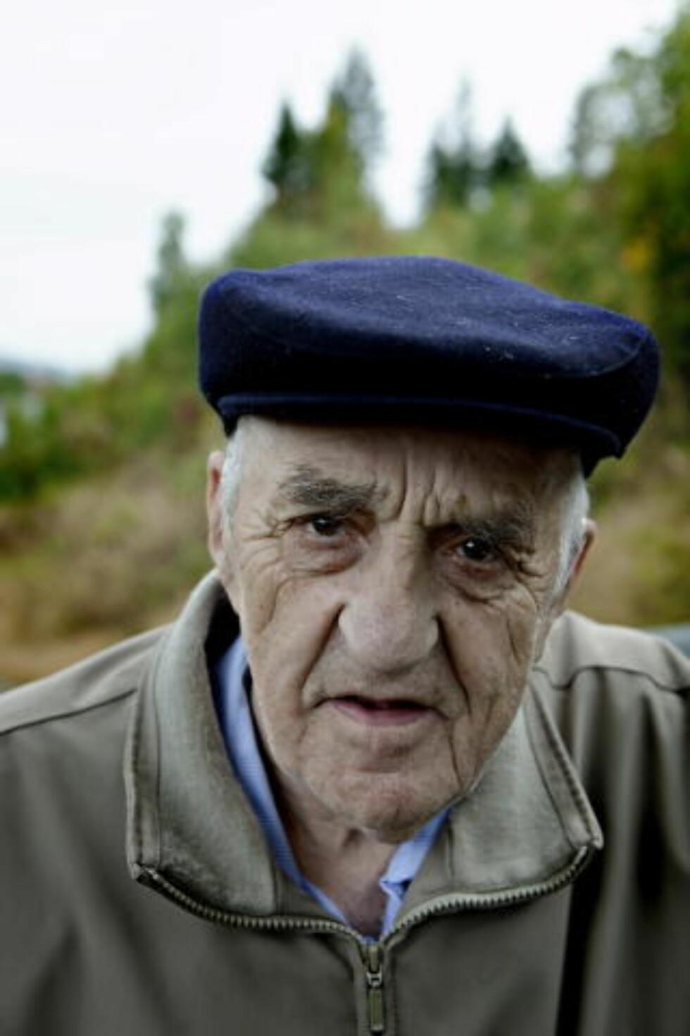 - VELDIG TRIVELIG: Snåsamannen forteller at Slottet tok initiativ til møtet. Foto: Lars Eivind Bones